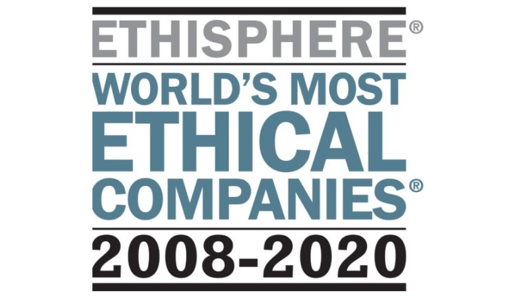 Ethisphere World's Most Ethical Companies 2008-2020
